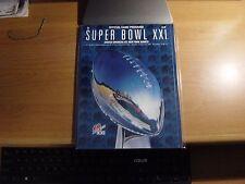 Lot of (4) Super Bowl Programs # 21, 25, 35, 46. New York Giants NFL