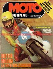MOTO JOURNAL  286 Road Test KTM GS 250 Hercules MOTOBECANE 175 GP de France 1976