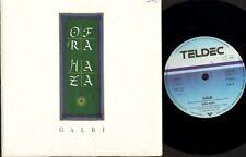 "OFRA HAZA galbi/love song YZ 301 german teldec 1988 7"" PS VG/EX sos"