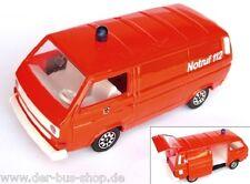 VW Bus T3 - Schabak Modell 1:43 - Feuerwehr Syncro Transporter - Rot