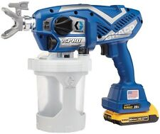 Graco TC Pro Cordless Airless Paint Sprayer Triax Piston Pump Built Durable