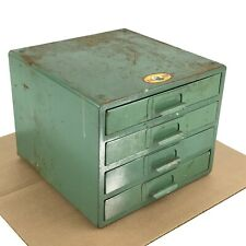 Vintage Simonsen Metal Products 4 Drawer Parts Bin Utility Cabinet Industrial