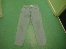 "Calvin Klein Easy Fit Jeans Size 14 Leg 32"" Faded Light Blue Ladies Jeans"