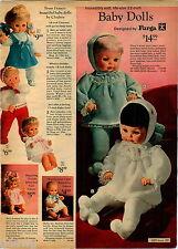 1970 ADVERT Furga Doll Dolls Clodrey Betsy Wetsy Mattel Little Tubsy