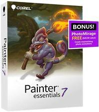 Corel Painter Essentials 7  for window / Mac digital download + code