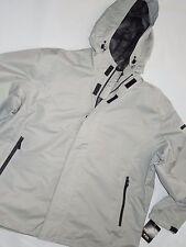 London Fog FOG mens stone beige Waterproof Seam Sealed Rip Stop Jacket size 3XL