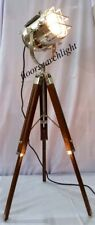 FLOOR LAMP HANDMADE NAUTICAL DESIGNER STUDIO TRIPOD STAND SPOT SEARCHLIGHT