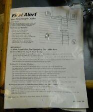 First Alert Fire Escape Ladder El50 2 Story 15 Foot Strong Steel Construction