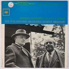 SIBELIUS: Symphony No 1 Ormandy COLUMBIA 2-EYE Vinyl LP MS 6395 NM- Super