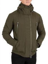 Nylon Regular Size Coats & Jackets for Men
