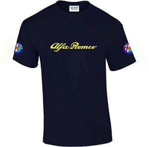 Alfa Romeo T Shirt  Men's Novelty Alfa T-Shirt Top