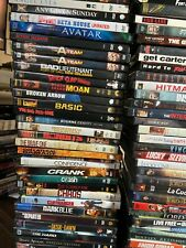 LOT of 35~ACTION~ DVD's~USED~PICK AND CHOOSE! ~ BUY more and Save