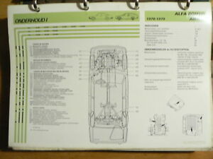 ALFA ROMEO ALFETTA 1967-79 MODEL INFO TECHNICAL INFORMATION CAR AUTO OLY001