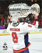 Alex Ovechkin Washington Capital Hoist Stanley Cup 8x10 Photo 2