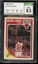 1989/90 Fleer Michael Jordan #21 CSG 8.5 Chicago