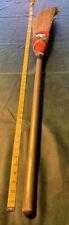 CURLING CLUB Straw Witch Broom Vintage Antique 40's-50's Atlas Ken Watson Scots