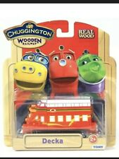 1 Tomy Chuggington Real Wooden Railway Decka Works With All Wood Train Systems