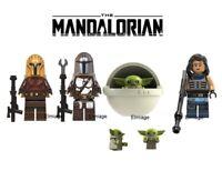 NEW Custom Baby Yoda Mini figure The Mandalorian Fits Star Wars Mini Fig Block