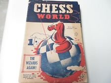 CECIL PURDY CHESS WORLD 1947!-New #2-Vintage Allan Troy Chess Book
