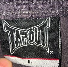 Men's  Pants Tapout  Size L  Exercise  3/4 length Pants  100% Polyester