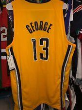 PAUL GEORGE #13 SIGNED AUTOGRAPHED NBA SWINGMAN JERSEY-BECKETT BAS COA CLIPPERS