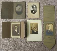 1930S, 1940S SET OF 5 PHOTOS, SEWICKLEY, BEAVER FALLS, PGH PORTRAITS
