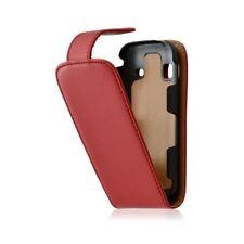 Housse coque étui pour Samsung Galaxy Gio S5660 couleur rouge