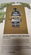 Loot Crate Exclusive Uncharted 4 Nathan Drake Mini Poster