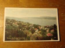 Vintage Postcard Watkins, N.Y., And Seneca Lake
