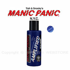 Manic Panic Amplified Semi-permanent Vegan Hair Dye Color All Colors 4 OZ Blue Moon