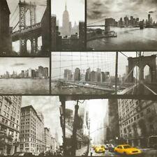 New York City Wallpaper Black White Yellow Taxi Photograph Twin Liberty Bridge