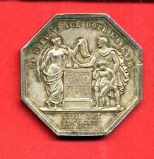 (J.24) JETON EN ARGENT D'ASSURANCE LA PRÉVOYANCE (1830)