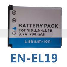 EN-EL19 Li-ion Battery for Nikon Coolpix S3100 S3200 S3300 Digital Camera