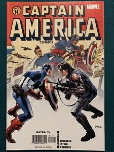 Captain America #14 (2006) 1st Meeting Falcon & Winter Soldier VFN/NM