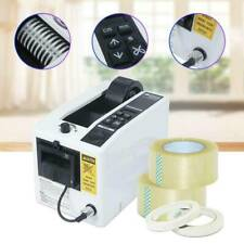 Used 18w Automatic Auto Tape Dispensers Electric Adhesive Cutter 3 Digit Led