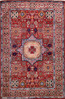 Hand-knotted Rug (Carpet) 4'1X6'1, Mamluk mint condition