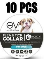 10-Pack Earth Vibes Non Toxic Flea and Tick Collar For Dogs