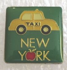New York City Taxi Cab Tourist Travel Souvenir Collector Pin
