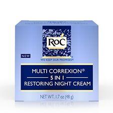 RoC Multi Correxion 5in1 Restor Antiaging Night Cream Wrinkle Treatment Face Nec