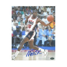 Magic Johnson signed Team USA Olympic Dream Team 8X10 Photo SCHWARTZ HOLOGRAM