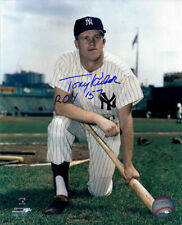 Tony Kubek Autographed/Signed New York Yankees 8x10 Photo ROY 12002