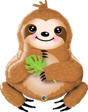 Sweet Sloth Large Foil Balloon 99 cm Tall Birthday Party Event Decoration