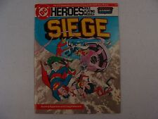 Siege * Dc Heroes Role Playing Module * Justice League of America