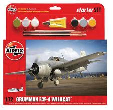 Airfix Starter Set A55214 Grumman F4F-4 Wildcat - 1:72 Scale