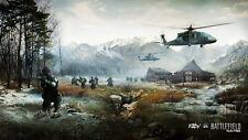 """10 Battlefield 4 IV - Hot Video Game Art 25""""x14"""" Poster"""