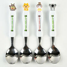 Portable Kid Travel Cutlery Set Cute Dining Cartoon Stainless Steel Spoon & Fork