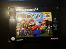 Mario Golf game n64 Nintendo 64 Boxed Complete PAL