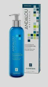 ANDALOU NATURALS CLEAR SKIN, CLEANSING GEL CITRUS KOMBUCHA / 6 OZ  NEW in BOX