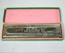HOHNER 57/120  CG Echo Harp Double Sided Harmonica - Bell Metal Reeds GERMANY