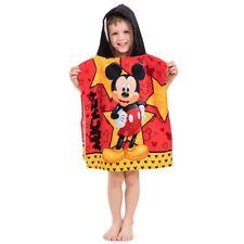 Mickey Mouse Étoile Poncho Serviette avec Capuche Enfant Plage Bain Piscine